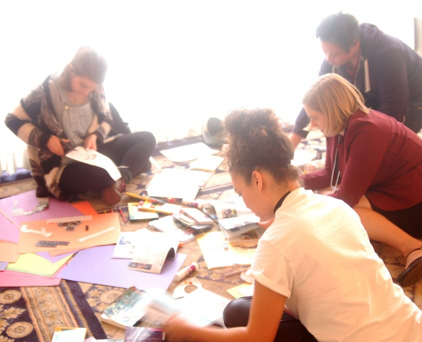 Thinking Gender 2017 Conference participants crafting Freedom Manifestos.