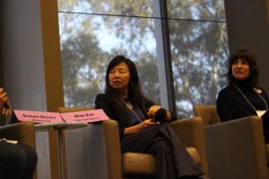 Photo of TG20 Keynote Panelists, Mimi Kim and Emily Thuma