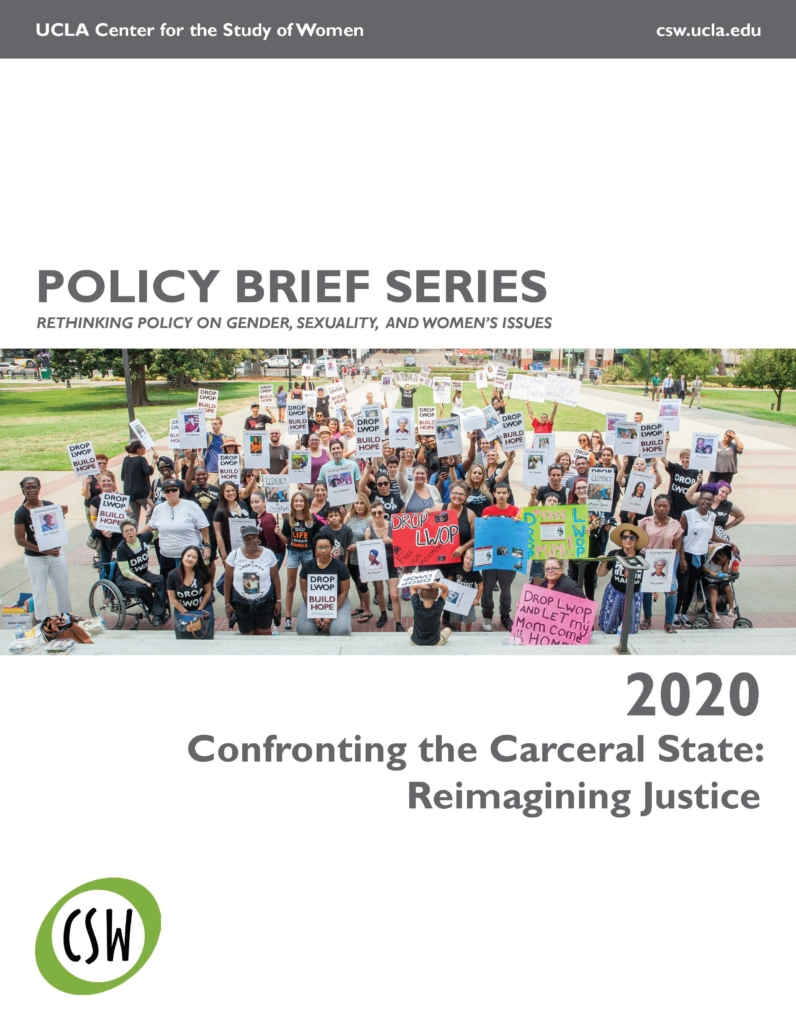 Cover page for the 2020 CSW Policy Brief