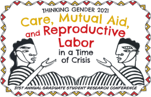 Event Banner for Thinking Gender 2021