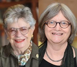 Helen Astin and Julia Wrigley