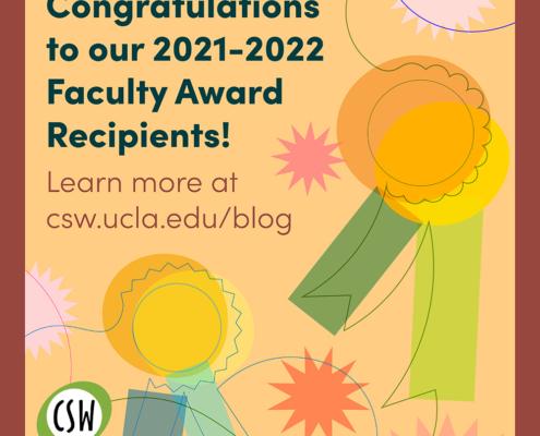 Illustration congratulating award recipients